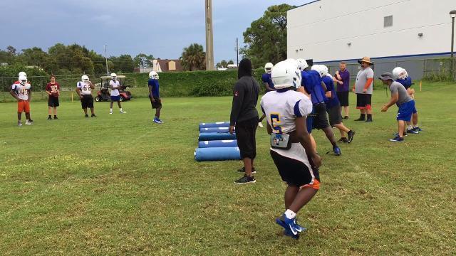 Video: Titusville High football practice