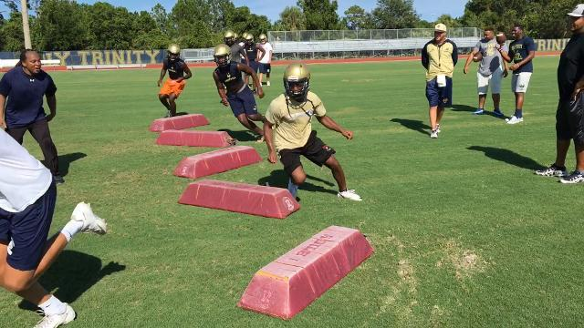 Video: Holy Trinity Episcopal fooball practice