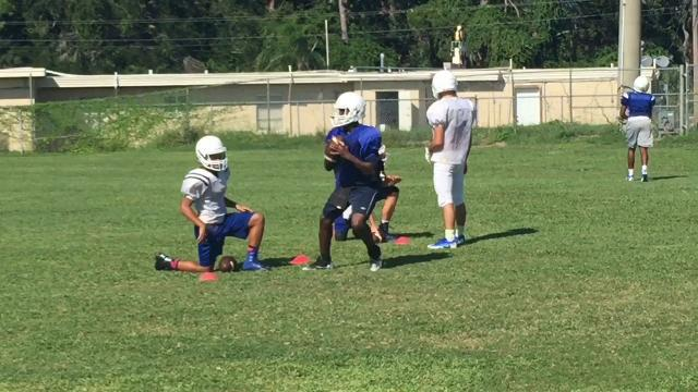 Titusville high football has young skill talent