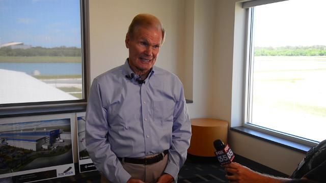 Sen. Nelson on future launches, problems in North Korea