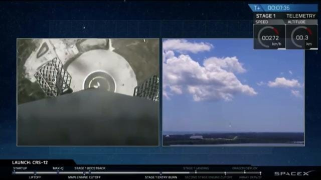 SpaceX Falcon 9 launches from KSC, lands at Cape
