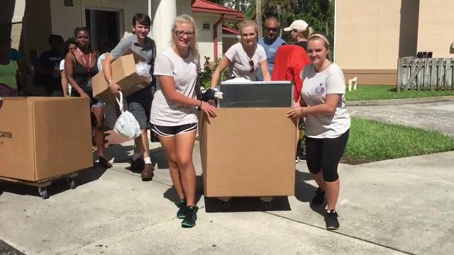 Move In Day at Florida Tech