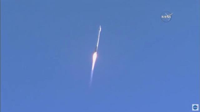 Atlas V rocket launches from Cape with NASA satellite