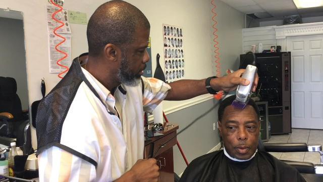 Books for barbers in south Brevard