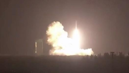 Minotaur IV rocket launches from Cape