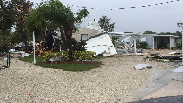 Irma-spawned tornado strikes Palm Bay