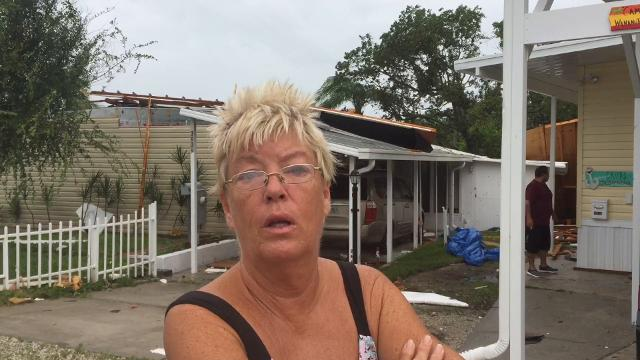 Palm Bay tornado witnesses