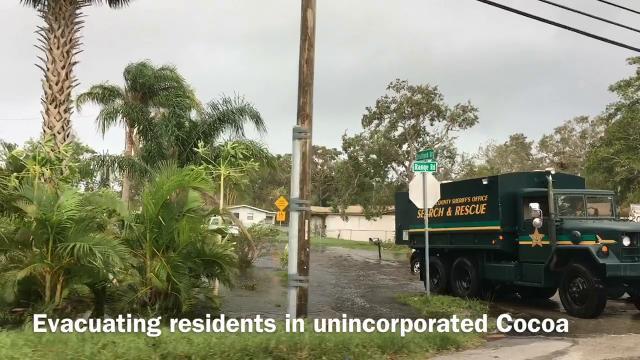Irma aftermath scenes in Viera and Cocoa area