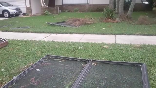 Hurricane Irma damage - West Cocoa