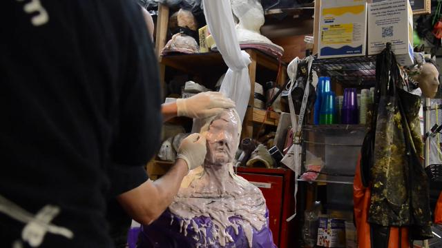 Special effects: What is lifecasting?