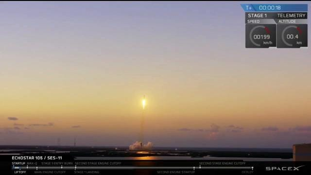 SpaceX launches Falcon 9 from KSC, nails the landing