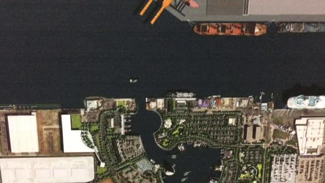 Port Canaveral presented their strategic master plan Monday morning to the public. A capacity crowd attended the meeting, Video by Malcolm Denemark