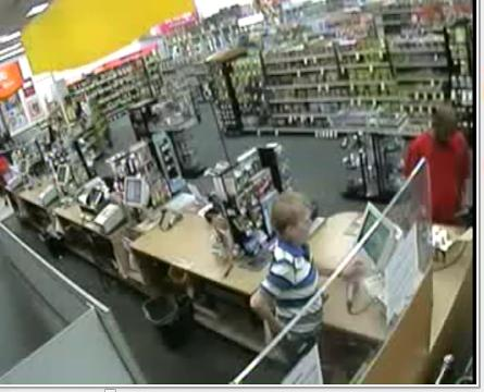 Police say he implied he had a gun and demanded money from the cashier.