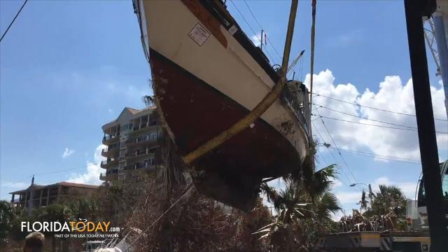 Today on the News in 90 Seconds, host Rob Landers brings you the story of Cocoa's plea to change derelict boat rules and how water levels in Brevard are still dangerously high. Video by Luann Manderville and Rob Landers. Posted 10/18/17