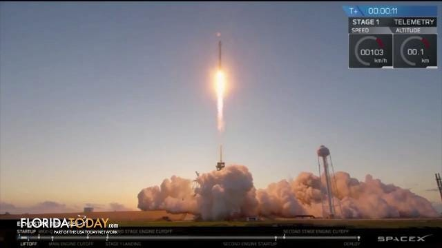Today on the News in 90 Seconds, we're looking at SpaceX's mysterious cargo, a fugitive busted on Merritt Island and a Rockledge crash where a driver takes off on foot. Video by Rob Landers and Luann Manderville. Posted Oct. 19, 2017