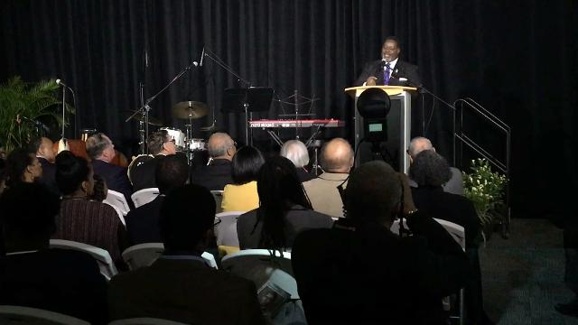 The Astronauts Memorial Foundation and NASA today honored Maj. Robert H. Lawrence, the nation's first black astronaut, on the 50th anniversary of his death. Video by Craig Bailey. Posted Dec. 8, 2017.