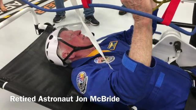 The new Astronaut Training Experience Center at KSC Visitor Complex. Video by Tim Shortt. Posted 12/18/17.