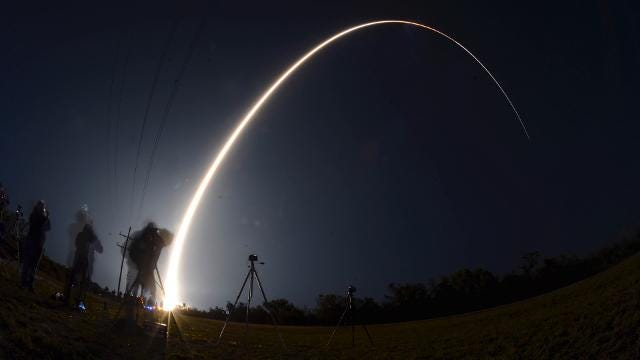 See all 2017 rocket launches from the Space Coast