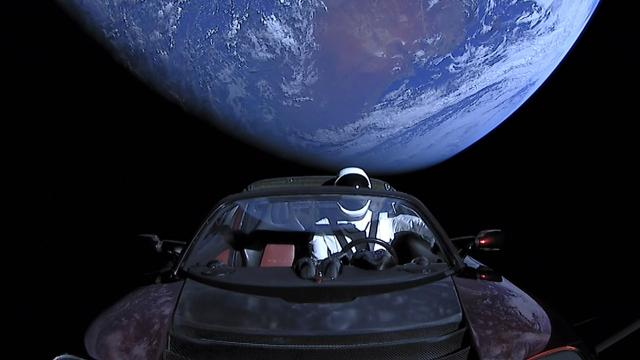 Starman was the star of SpaceX's historic Feb. 6 launch of the Falcon Heavy rocket. Ginny Beagan/FLORIDA TODAY