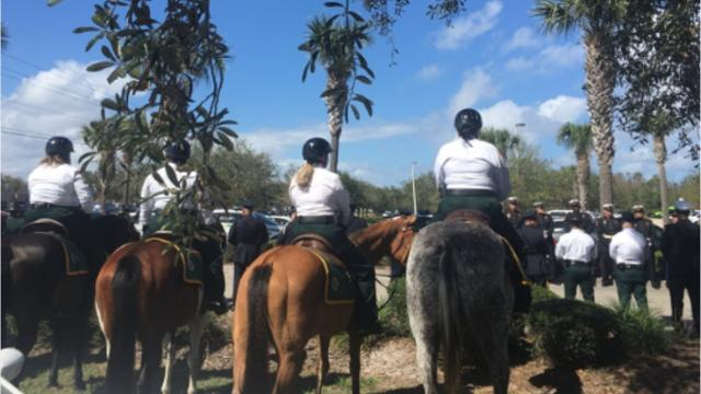 Funeral for Deputy Kevin Stanton