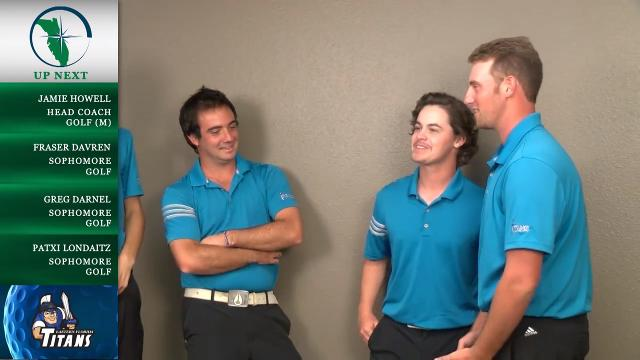 Eastern Florida State's golf coach Jamie Howell and members of the team talk about the men's team's season during media day. Video by WEFS. Posted March 6, 2018