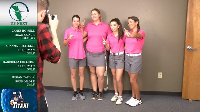 Eastern Florida State's golf coach Jamie Howell and members of the team talk about the women's team's season during media day. Video by WEFS. Posted March 6, 2018
