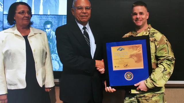 Brevard veteran receives Broken Wing award