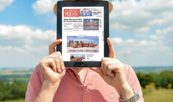 As a subscriber to FLORIDA TODAY, you can access a digital replica of our print edition, right on your phone! Download the e-Edition app TODAY from the Apple Store or Google Play store!