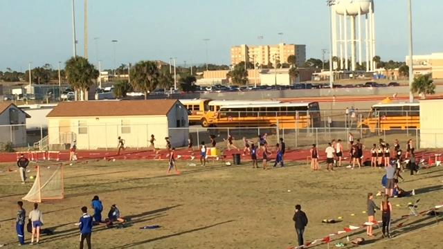 Raiders ran a 48.29. Rockledge also won Cape Coast Conference girls team title. Video by Brian McCallum. Posted March 29, 2018.