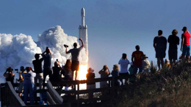 SpaceX Falcon 9 rocket to launch 'brute' of a satellite on second flight