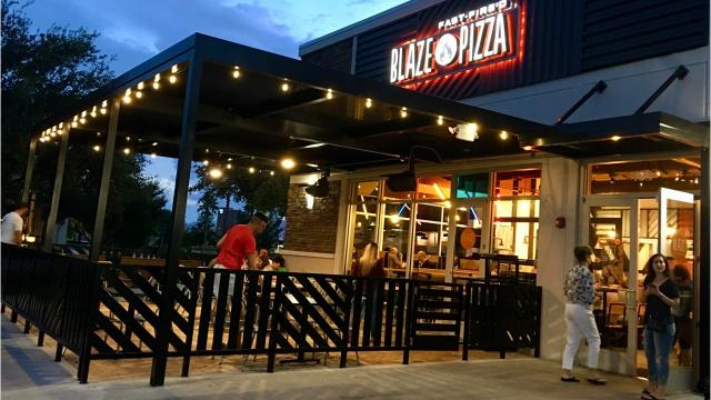 No, Blaze Pizza in Viera isn't a locally owned neighborhood pizzeria. But judged against other chain pizza establishments, it does a good job, with friendly service and fresh ingredients. Photos and review by Lyn Dowling. Video by Suzy Fleming Leonard. Uploaded Oct. 9, 2018.