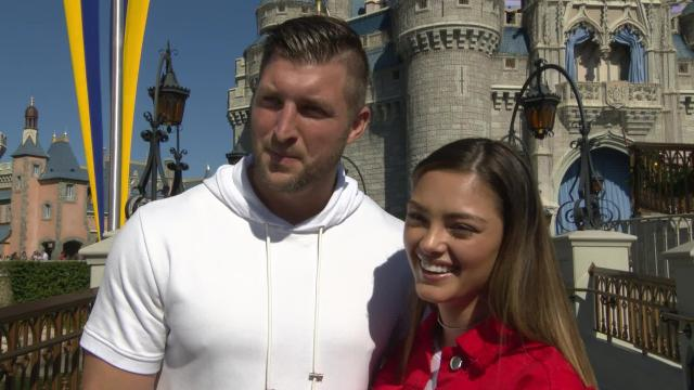"""Nel-Peters says she's """"looking forward to making meaningful differences"""" with Tebow."""