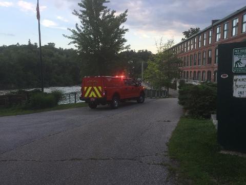 Colchester Tech Rescue arrives