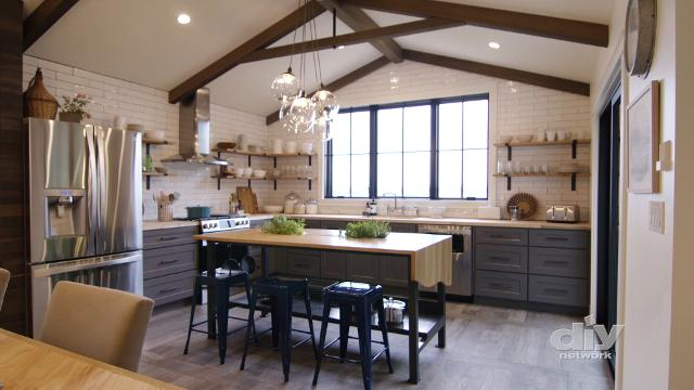 """1960s Colchester ranch-style home remodeled for """"Ultimate Retreat,"""" DIY Network's home makeover series and sweepstakes."""