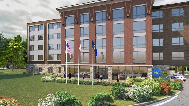 DEW Construction is planning to build a hotel at Burlington International Airport.