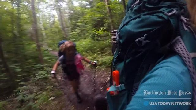 Yarrow Upton and her daughter Zella, 9, of Burlington spend summer 2017 hiking the Long Trail in Vermont. They completed about 120 miles by the end of July. Some of this video was recorded by the duo along the way.