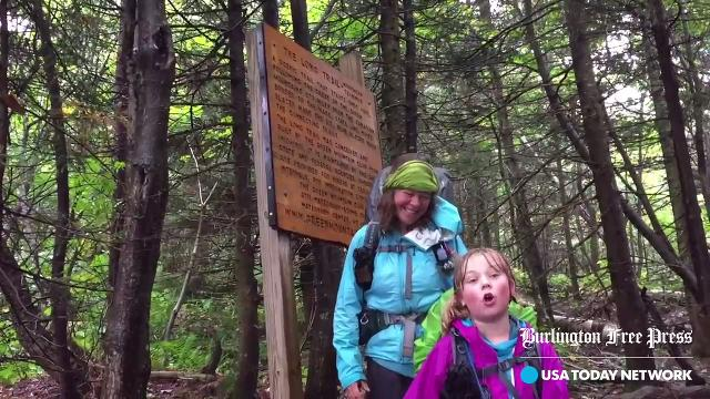 Yarrow and Zella Upton hiked 273 miles from the MA state line to the Canadian border between July 12 and Sept 3.
