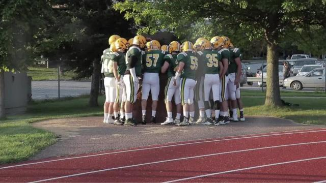 BFA-St. Albans defeated CVU in the teams' Week 1 high school football game this past Friday night.