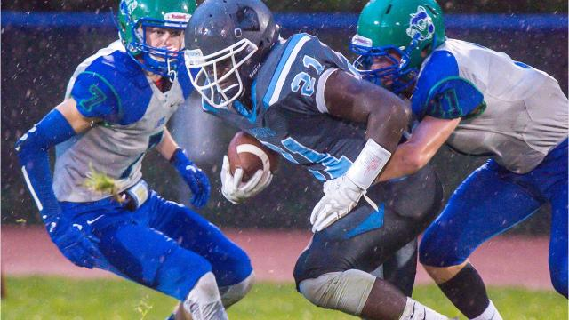 Colchester played South Burlington in Colchester on Friday, September 8, 2017.