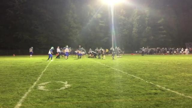 The Colchester High School football team defeated South Burlington for its first win of the 2017 season on Friday night.