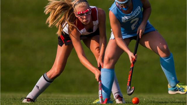 CVU girls field hockey hosted South Burlington in Hinesburg Monday and nearly tied it up late in the second half. But the Wolves held on to their 4-3 lead, besting the Redhawks.