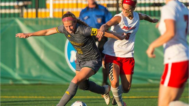 The University of Vermont womens soccer team hosted Marist College in Burlington on Tuesday, September 12, 2017.