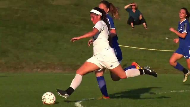 CVU girls soccer hosted Colchester in Hinesburg Wednesday, Sept. 13, 2017. and winning 2-0.