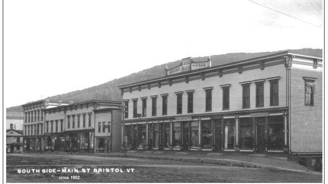 The Bristol Historical Society shares some photos of their town's growth in the 1890s.