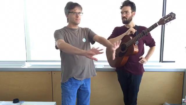 Burlington singer-songwriter who performs today at Grand Point North plays two songs and chats with arts and entertainment writer Brent Hallenbeck.