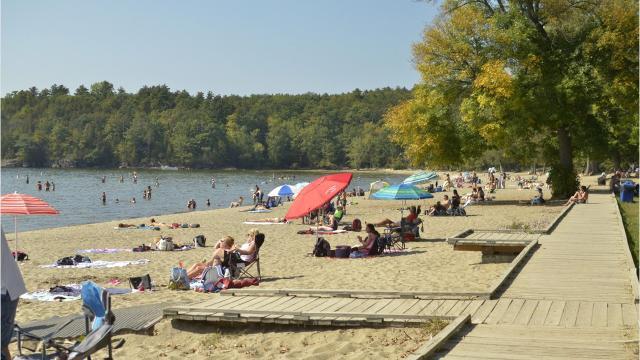 Endless summer: First few days of autumn in VT unseasonably warm