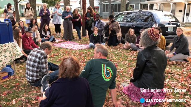 Burlington residents honor cleaver attack victims