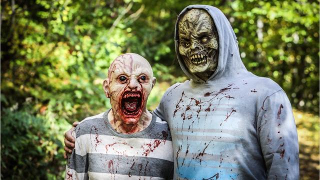 The Northwest Nightmares Zombie Run was held at Hard'Ack Recreation Area in St. Albans. Photos by Anthony Boccio