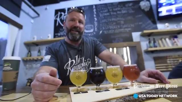 Sample a flight of beers at the 1st Republic Brewing Company, a veteran-owned brewery and homebrew supply store in Essex.