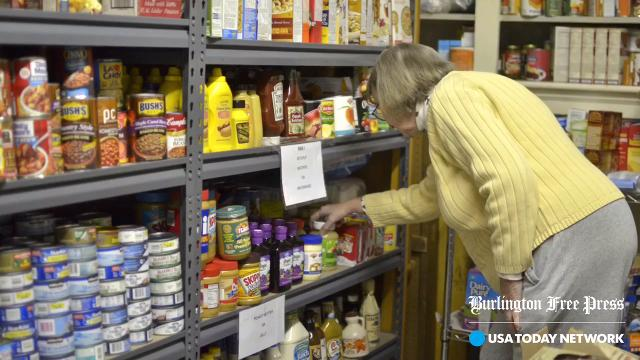 Winooski Food Shelf Director Linda Howe speaks about the nonprofit and the services it provides to its community on Sunday, Nov. 12, 2017.